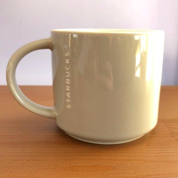 Starbucks 16oz Grey Stackable Mug